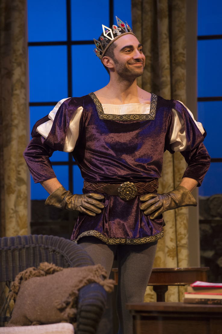 Lee Majdoub in Vanya and Sonia and Masha and Spike by Christopher Durang / Photos by David Cooper