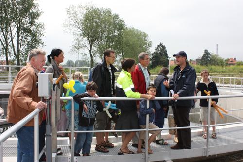 Volg de weg van vuil naar proper water in Aalbeke
