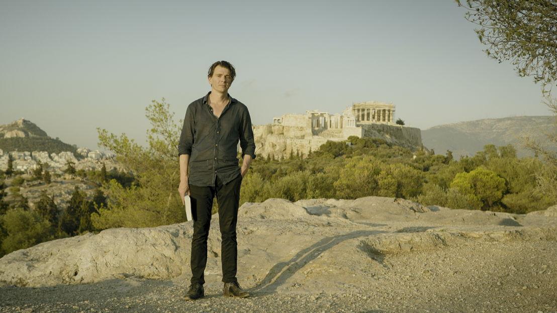 Made in Europe - aflevering 1 : Dimitri Verhulst aan de Acropolis - (c) Reinier van Brummelen