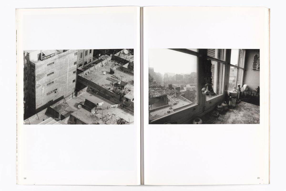"Spread from Randa Shaath's ""Under the same sky. Cairo."""