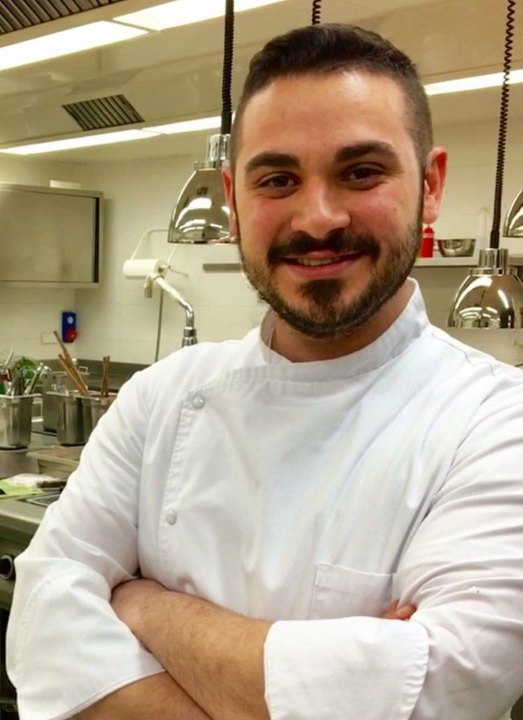 Chef Enzo Bellia, Castel Fragsburg, Merano (Relais & Chateaux)