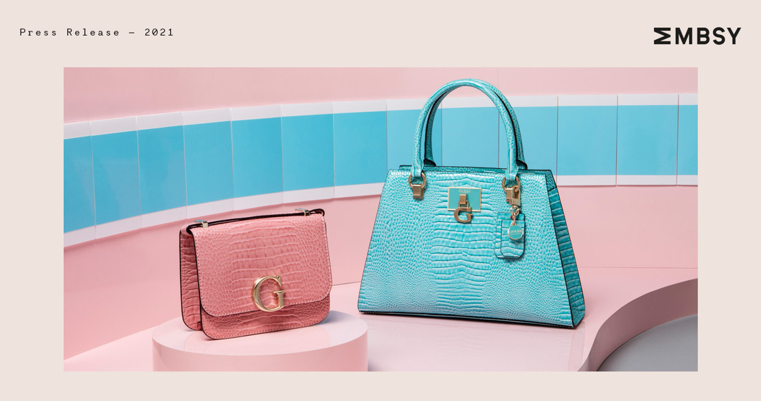 Summer luxe is here with the GUESS Croco Bags