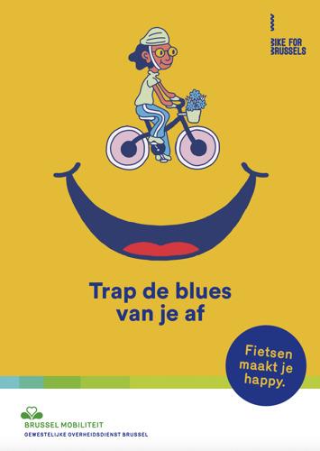 Mortierbrigade tovert een glimlach op je gezicht met Brussels Mobiliteit en Bike for Brussels