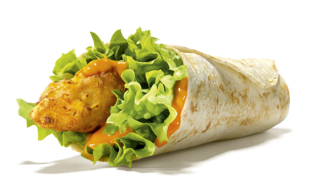 Junior Wrap Chicken Tomato Sweet Onion