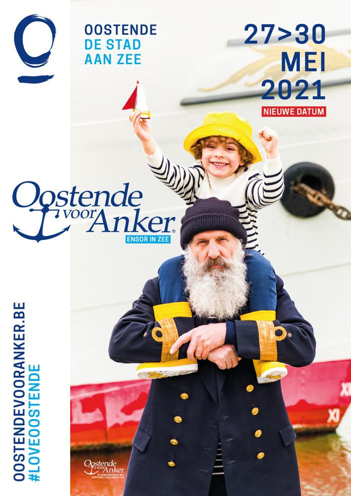 Oostende voor Anker wordt uitgesteld naar 2021