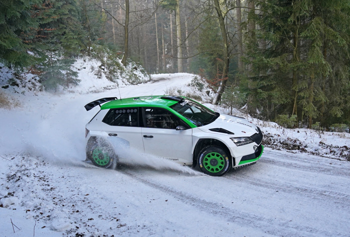 ŠKODA Motorsport cooperates with Oliver Solberg in WRC3 category of FIA World Rally Championship