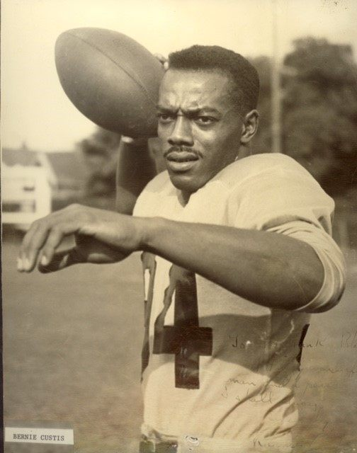 Bernie Custis (via the Hamilton Tiger-Cats)