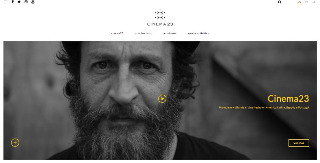 Lanzamiento del nuevo sitio de Cinema23