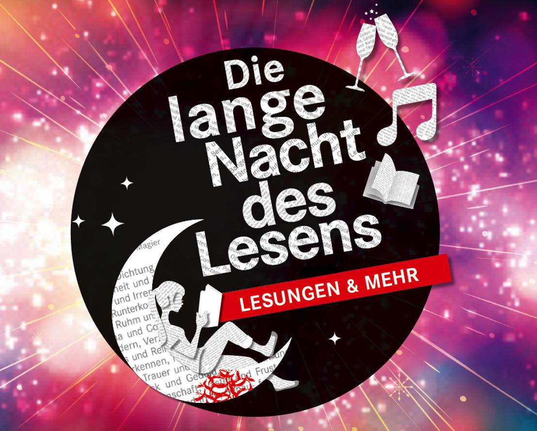 """Literarische Nächte voller Highlights: """"Die Lange Nacht des Lesens"""" in 13 Hugendubel-Filialen"""