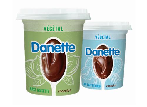 Danone lance son premier produit en version végétale avec l'emblématique Danette