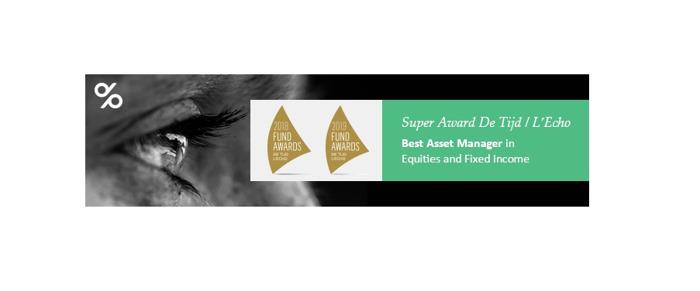Preview: Second consecutive 'Super Award' De Tijd & L'Echo for Degroof Petercam
