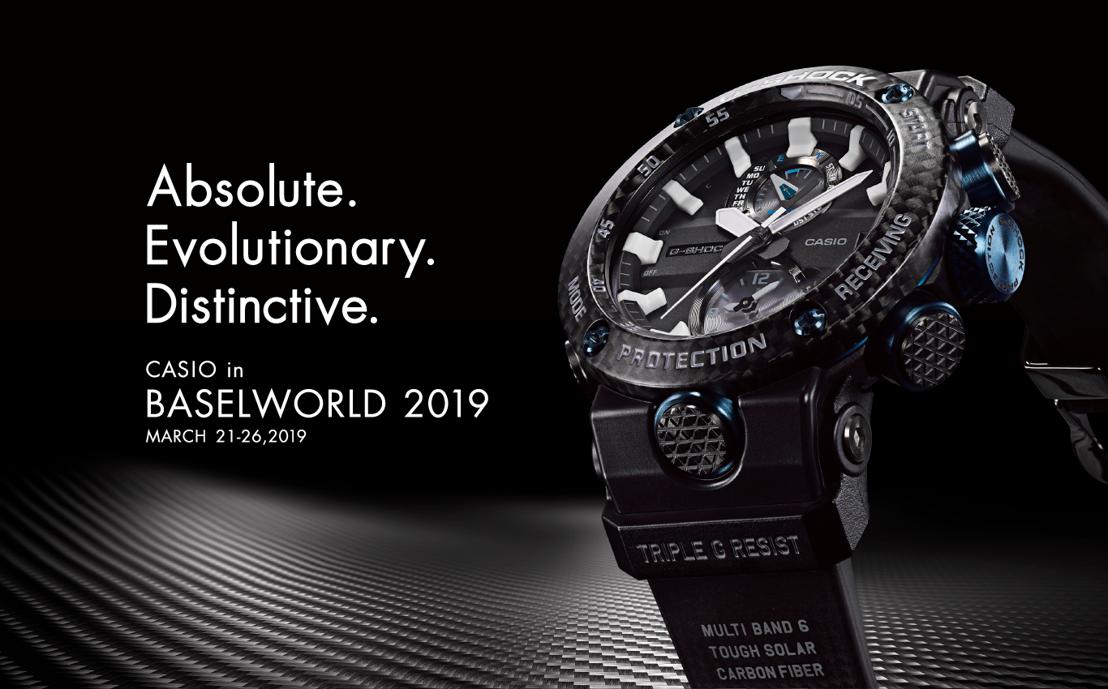 CASIO evoluciona y presenta relojería con tecnología original y estética premium en Baselworld 2019