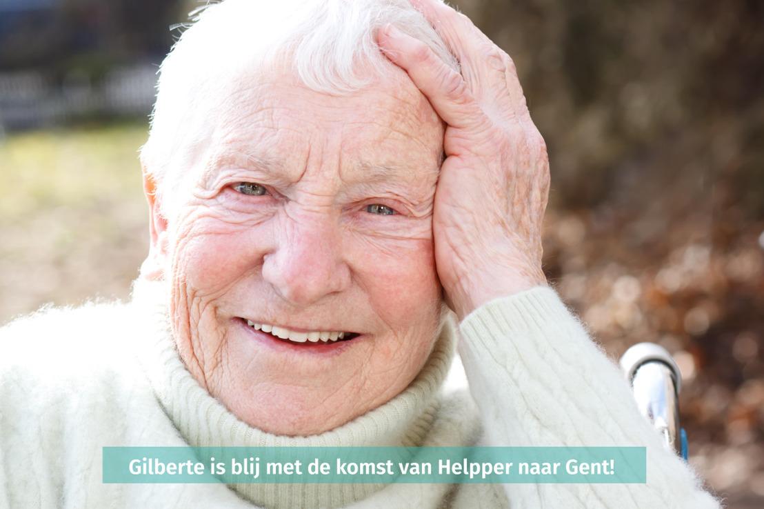 PERSUITNODIGING: Helpper, baanbrekend zorgplatform voor en door buren, komt naar Gent