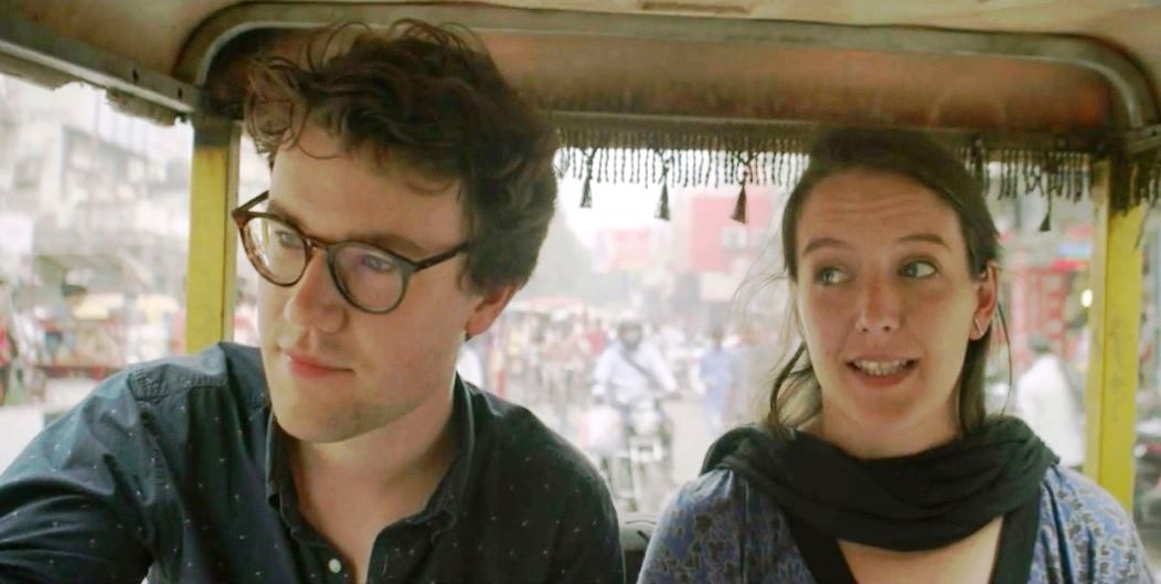 Watt - Jonas en Natalie in India - (c)   Hotel Hungaria