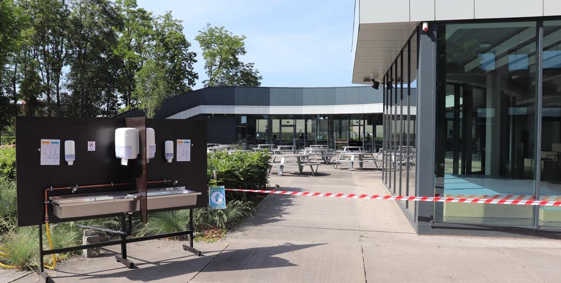 Technologiecampus Gent start met contactluwe examenperiode
