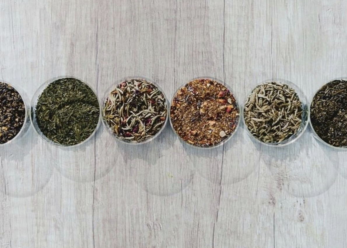 A selection of Herbal Immense teas