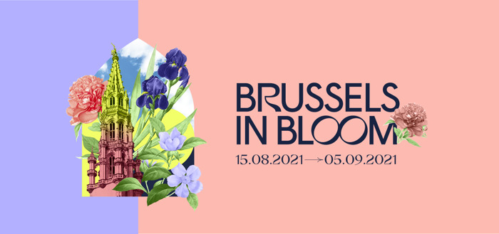 """Preview: """"Brussels in Bloom"""": a bouquet of colours and scents in the city centre"""