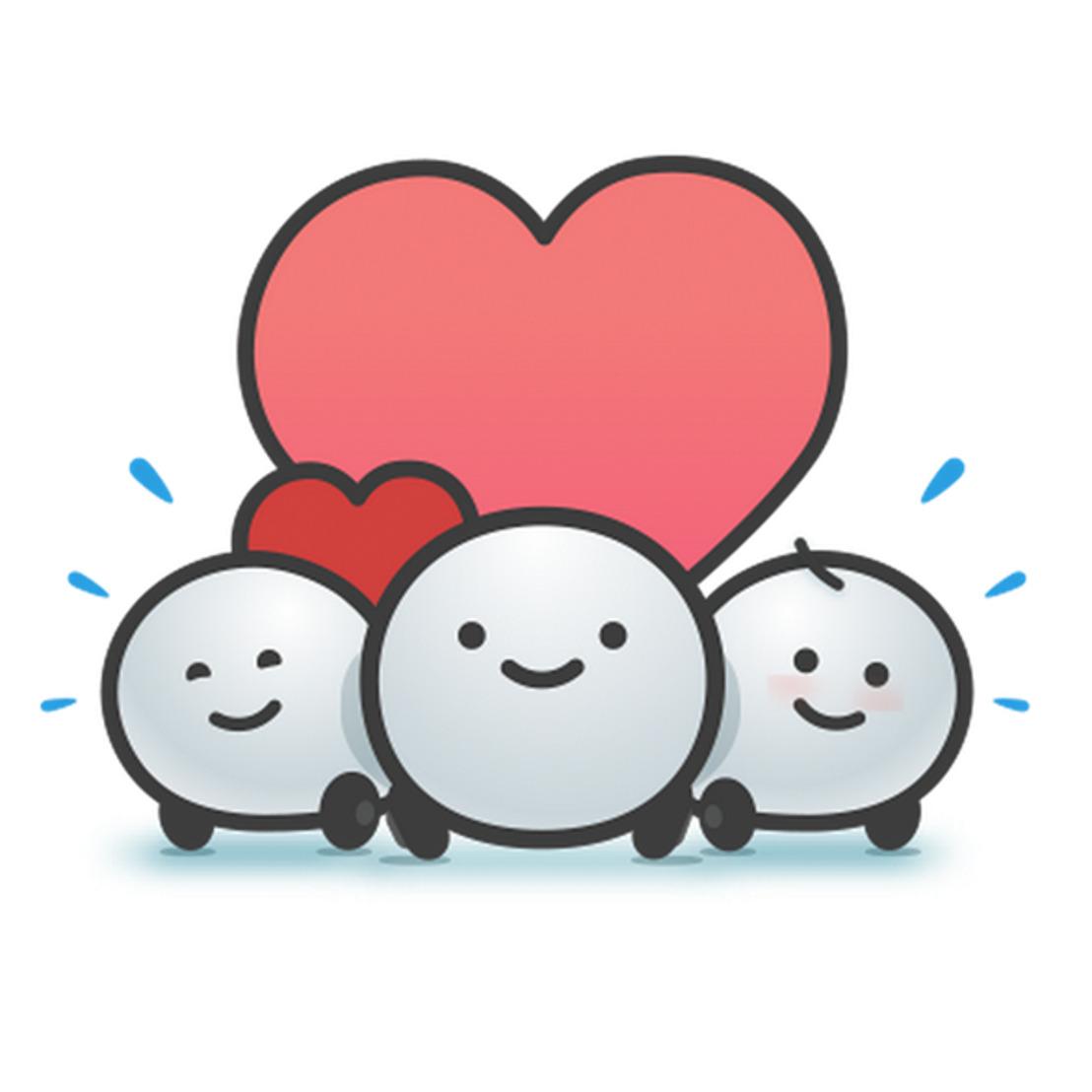 El amor está en el aire… y en Waze