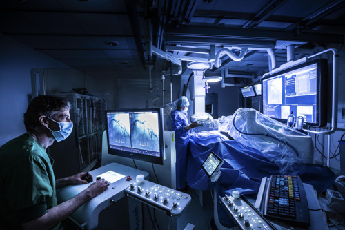 Medische primeur Benelux: robot plaatst stent in kransslagader