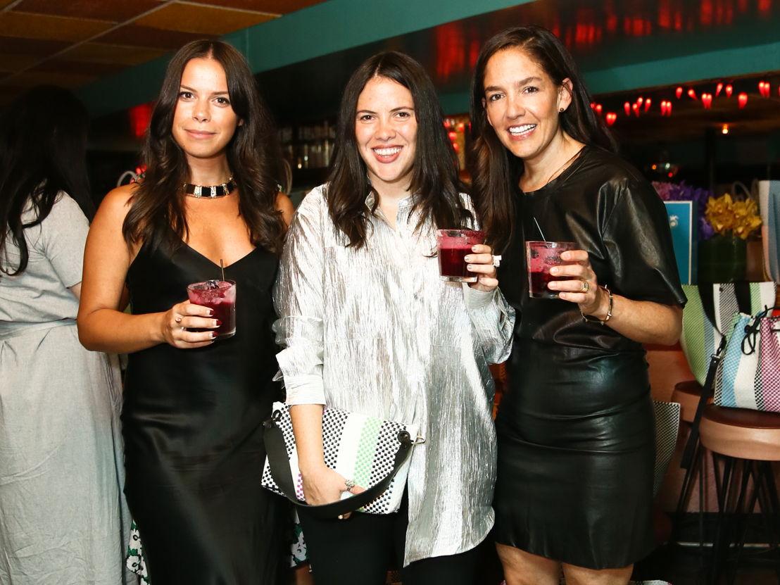 Gillian Tozer, Elise Durbecq y Bertha González Nieves
