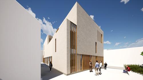 Lancement du nouveau bâtiment de l'Académie néerlandophone de musique à Berchem-Sainte-Agathe