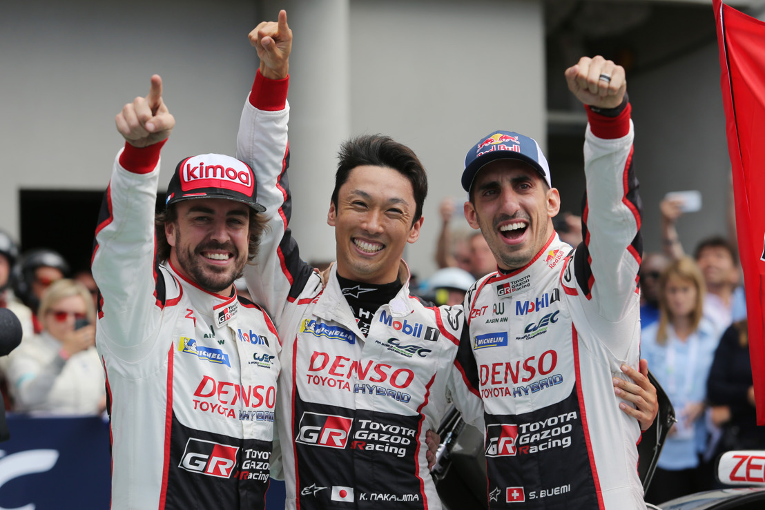 LE MANS WINNERS TOYOTA GAZOO RACING BACK IN ACTION