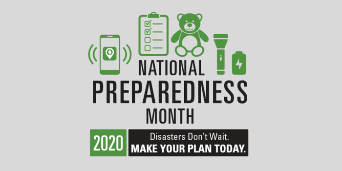 Disasters Don't Wait — Make Your Plan Today