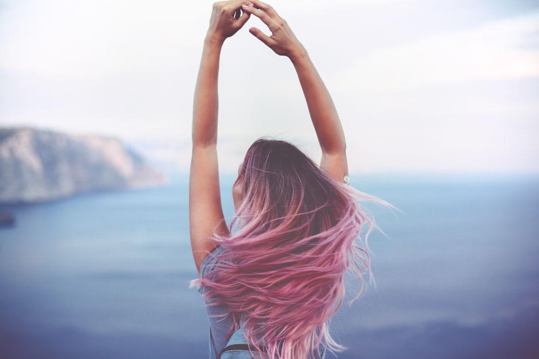 Shades of Pink Mermaid Hair