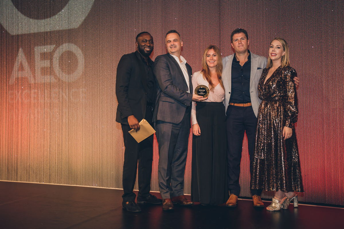 dmg events receives the Best Marketing Campaign Award at the AEO Excellence Awards 2019 for the Urban Design & Landscape Expo
