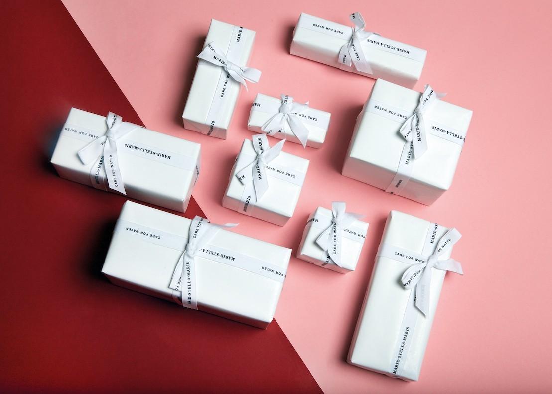 Des coffrets cadeaux luxueux sous le sapin avec MARIE-STELLA-MARIS