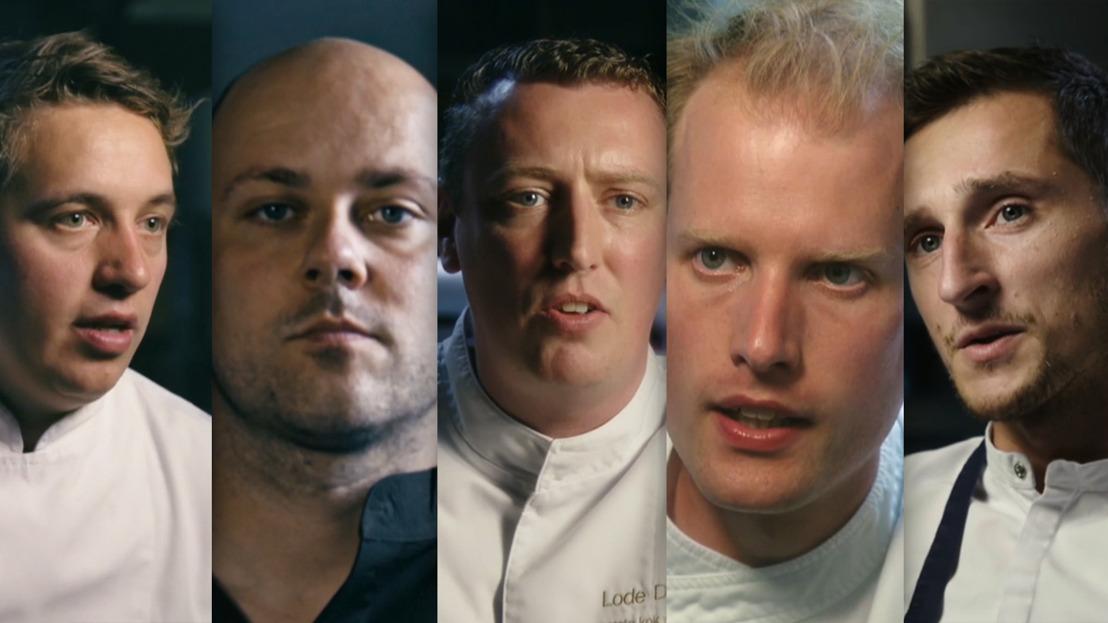 Deze vijf ambitieuze topchefs nemen u mee in hun leven vol Passie, Adrenaline en Ambitie!