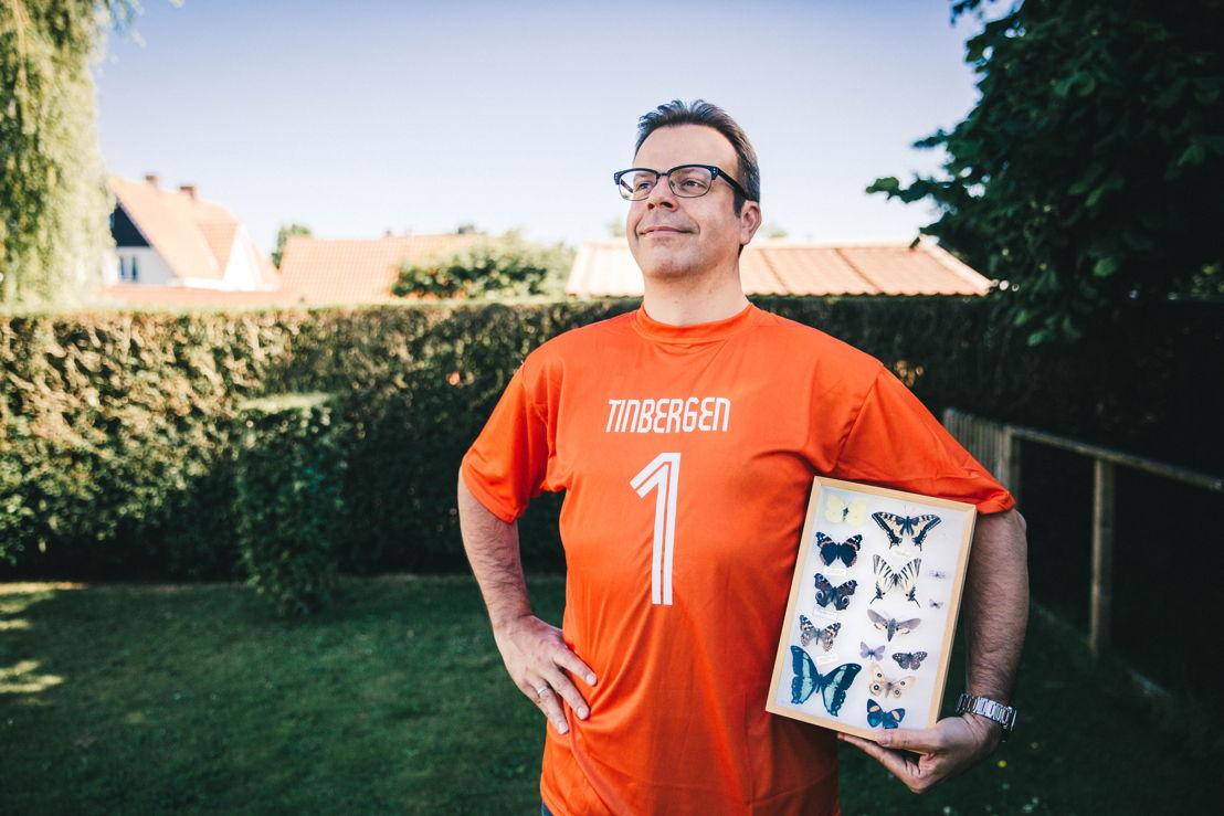 Hans Van Dyck - fan van Niko Tinbergen - (c) Louk Voncken
