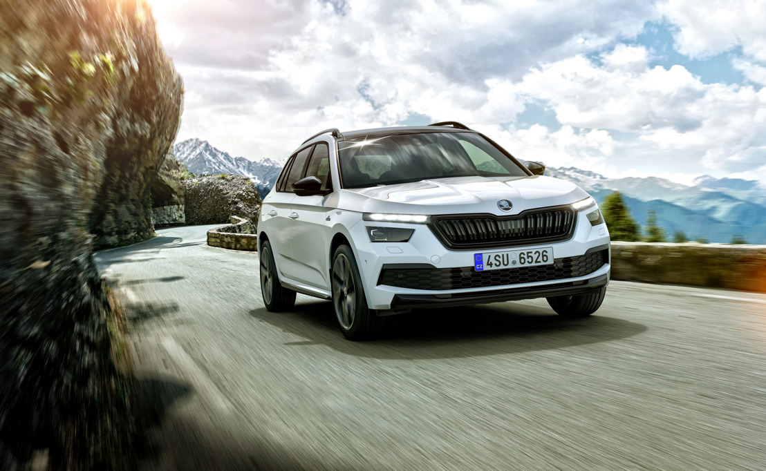 City SUV meets rally history: New ŠKODA KAMIQ MONTE CARLO to debut at the 2019 Frankfurt Motor Show