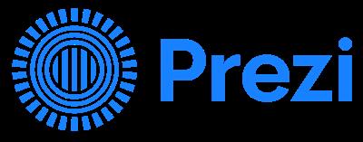 Prezi sala de prensa Logo