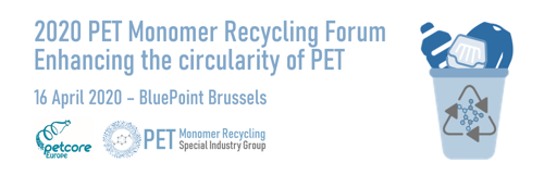 2020 PET Monomer Recycling Forum - Key Speakers confirmed