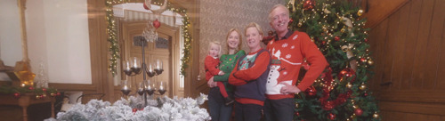 Kerst op Chateau Meiland op kerstdag op VIJF