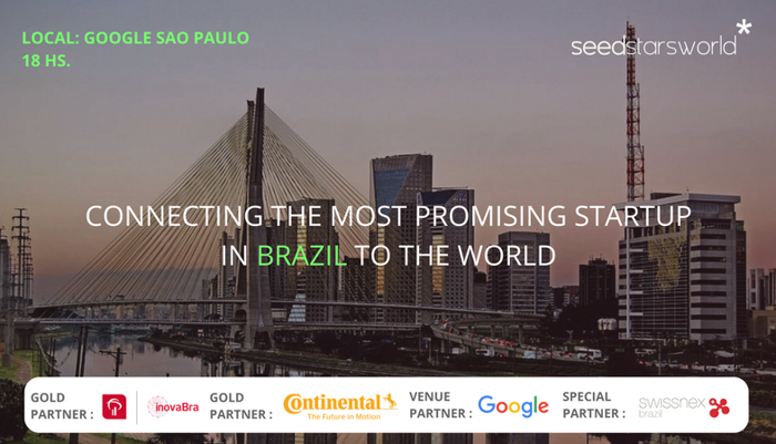 Preview: SEEDSTARS ANUNCIA AS 5 STARTUPS QUE IRÃO COMPETIR NA GRANDE FINAL DO BRASIL, NO DIA 17/10/2017