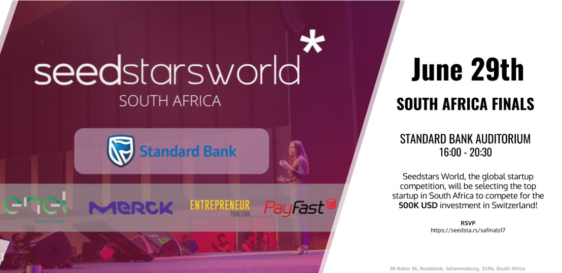 SEEDSTARS WORLD CHOOSES 3 WILDCARDS TO PITCH AT THE SOUTH AFRICAN FINAL
