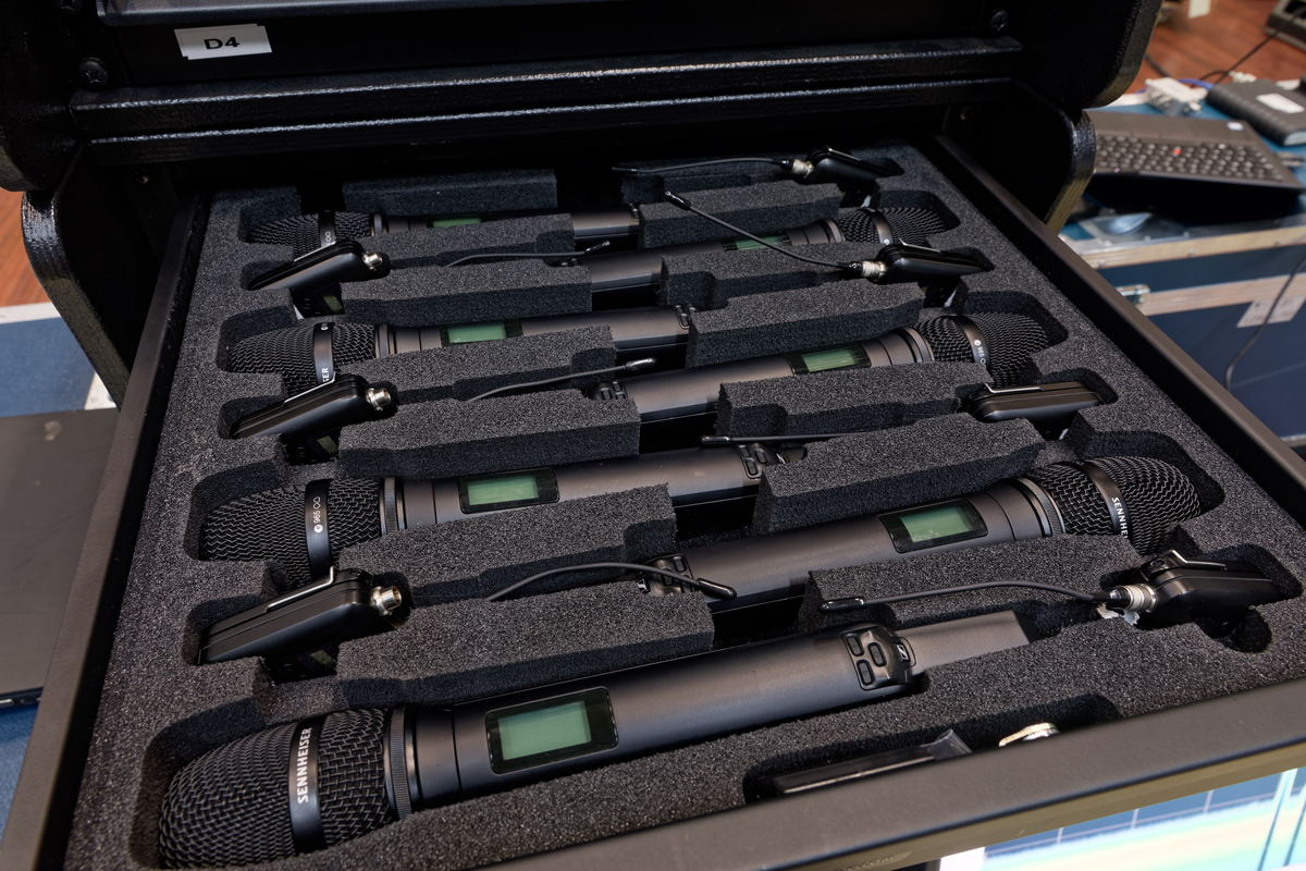 70 SKM 6000 handheld transmitters with matching MMK 965 true condenser capsules (switchable between cardioid and super-cardioid pick-up patterns) are now part of the equipment inventory at Studio Berlin GmbH