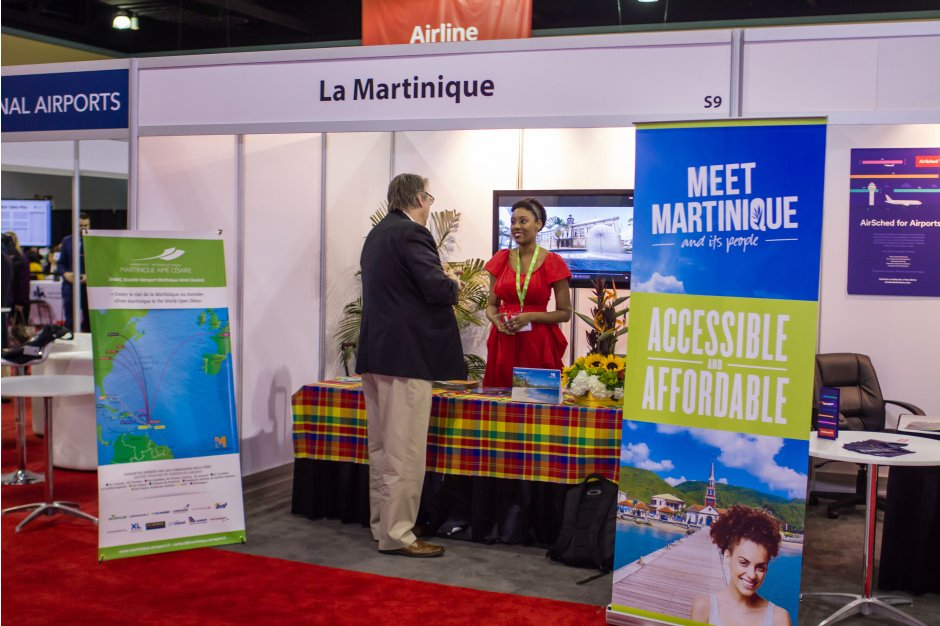 Martinique Exhibiting at Routes Americas 2017