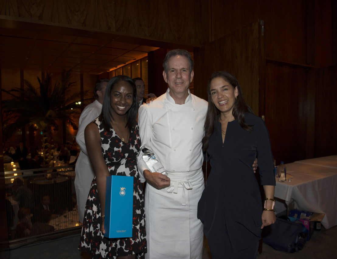 Teal Black, Chef Thomas Keller y Bertha González