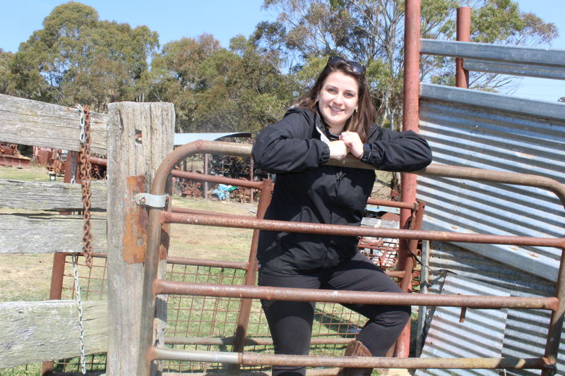 Trailblazer Alana Black, from Rydal in NSW, is excited to connect with other young change makers.