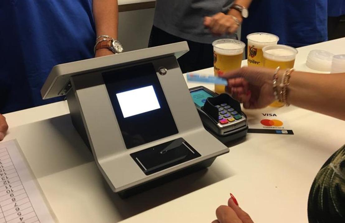 Elektronisch betalen wordt voortaan de norm bij de Sportpaleis Group: meer tijdswinst en comfort voor bezoeker