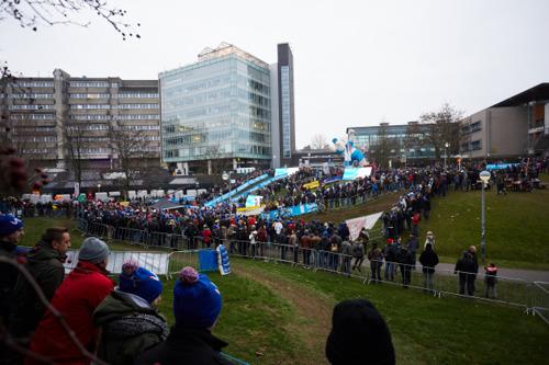 Parcoursverkenning Brussels Universities Cyclocross met Erwin Vervecken op donderdag 2 januari