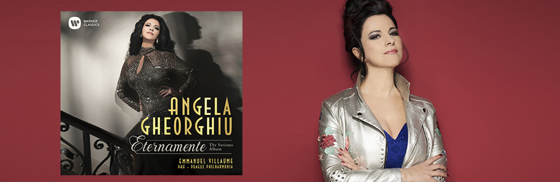 Angela Gheorghiu to release <i>Eternamente - The Verismo Album</i> on Warner Classics October 20