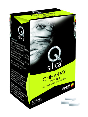 Preview: Qsilica One-A-Day Formula: The inner secret to outer beauty