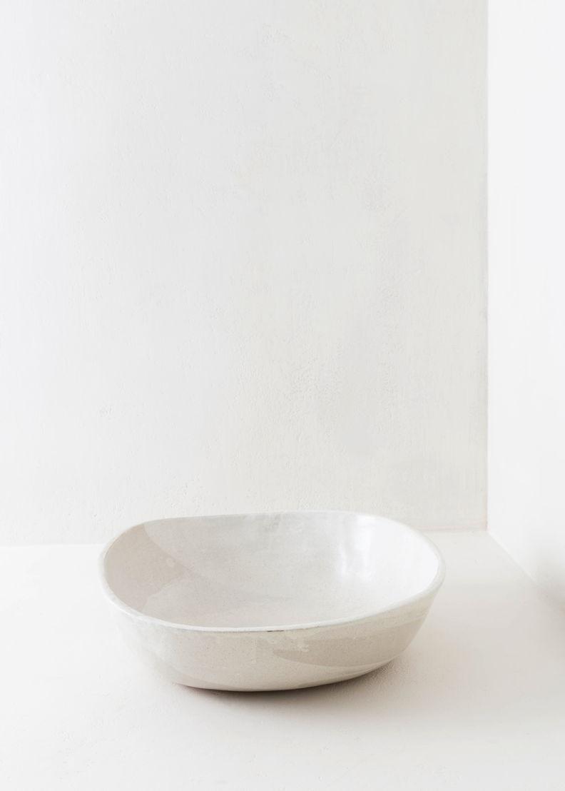 GR13 - Atelier Pierre Culot - White ceramic bowl - 640 euro