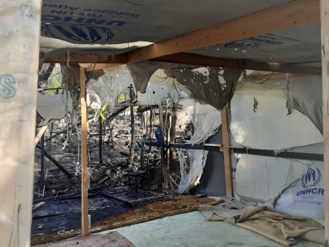 Statement von Ärzte ohne Grenzen zum Brand auf Samos