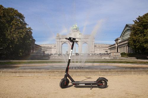 Preview: Les trottinettes électriques partagées Bird atterrissent à Bruxelles