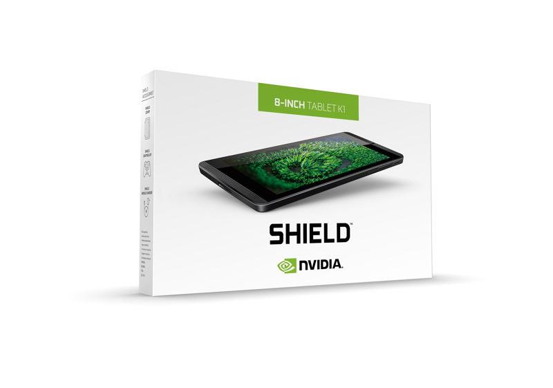 NVIDIA SHIELD Tablet Verpackung